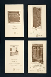 Advertising Card for a Chiffonier